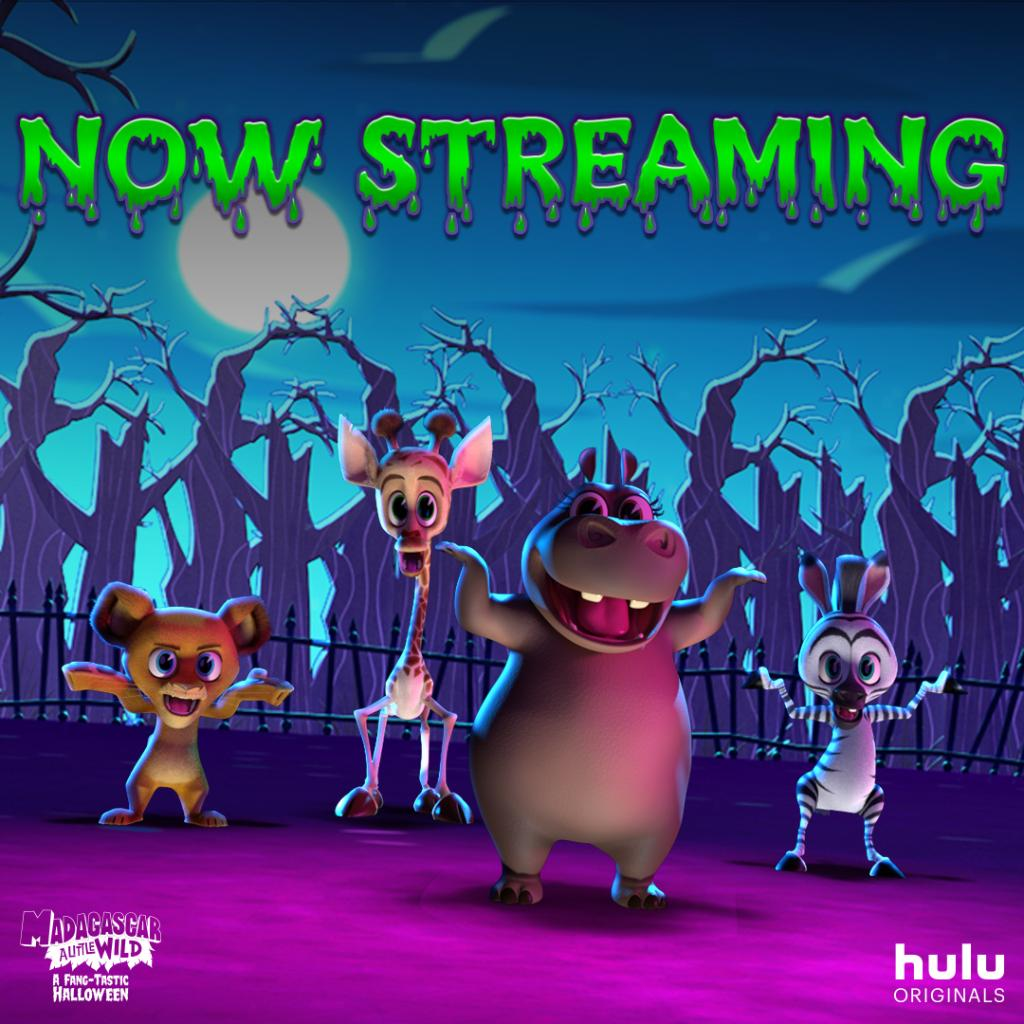 They've arrived! 🎃 Madagascar: A Little Wild - A Fang-tastic Halloween is now streaming. #Huluween https://t.co/00xyL1kykG
