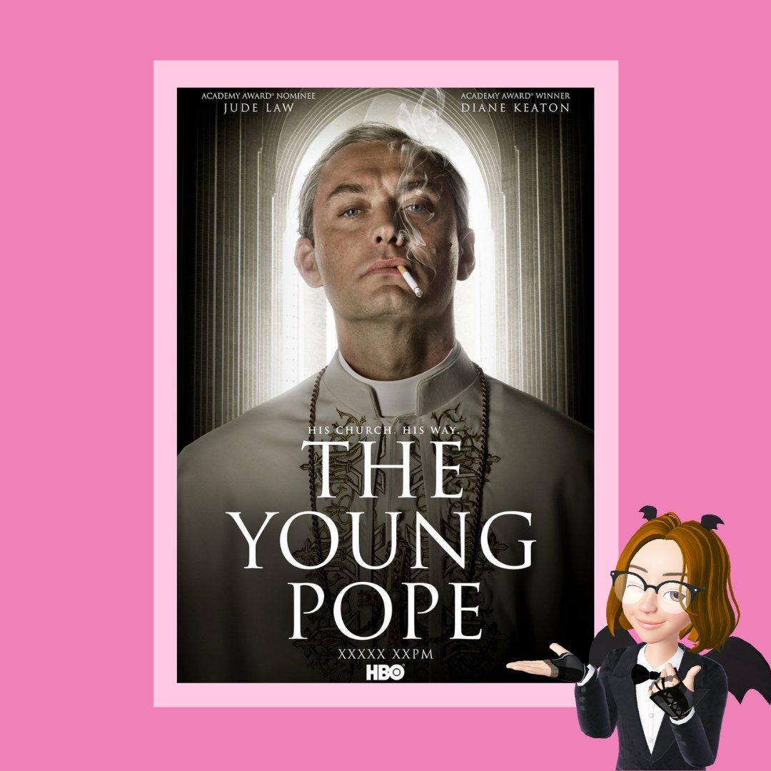 🍑@MrJarryPotta  #TheYoungPope   Rol soñado de Jude Law, en el que se pone en la piel del primer papa americano que, con su juventud, ironía y poca fé, va entrometiéndose en secretos prohibidos de la iglesia católica. Calidad @HBOLAT garantizada.  #OnWednesdayWeRecommend https://t.co/in4yD1HXWw