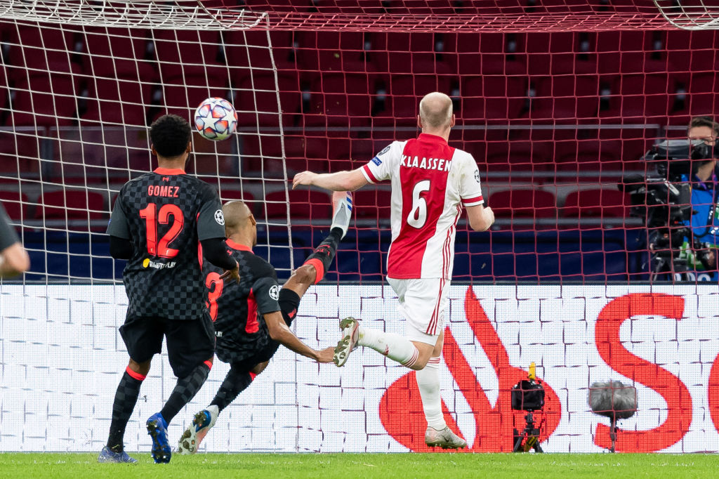 Xem lại bóng đá Ajax vs Liverpool, Champions League (22/10)