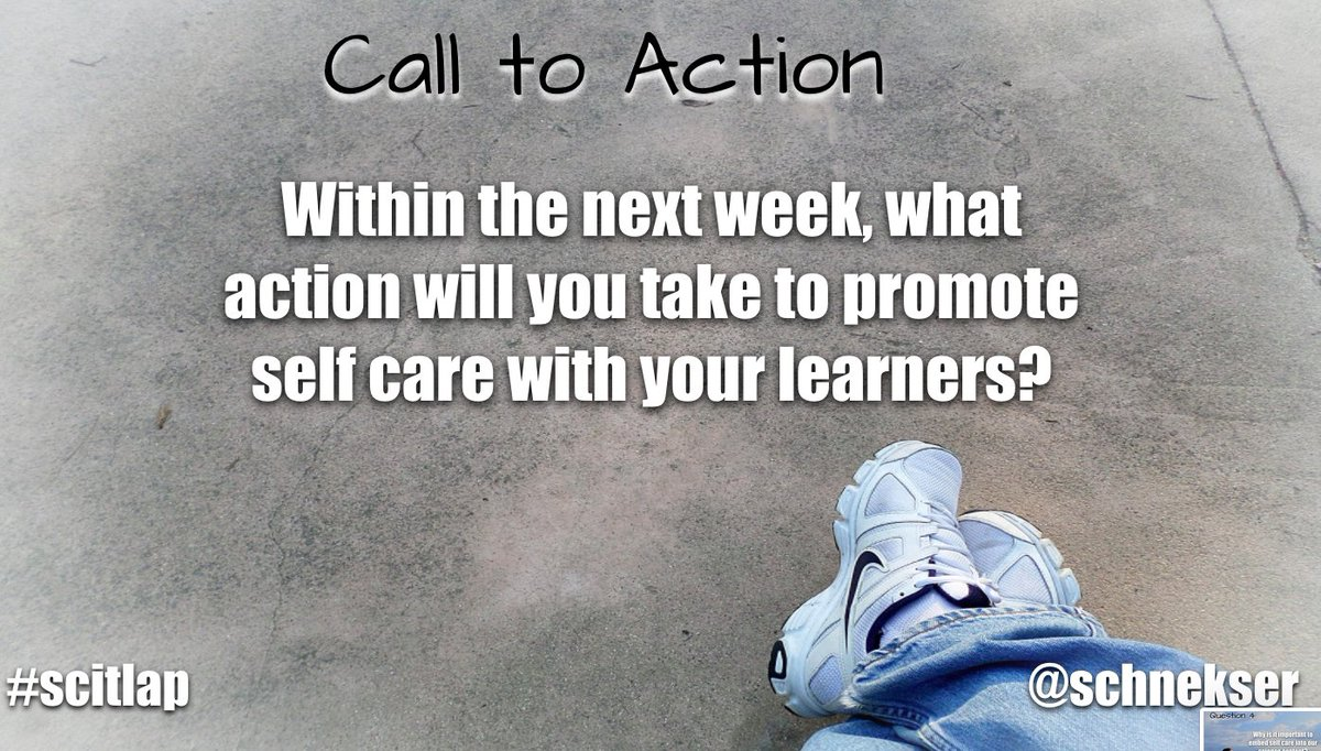 Call to Action #scitlap