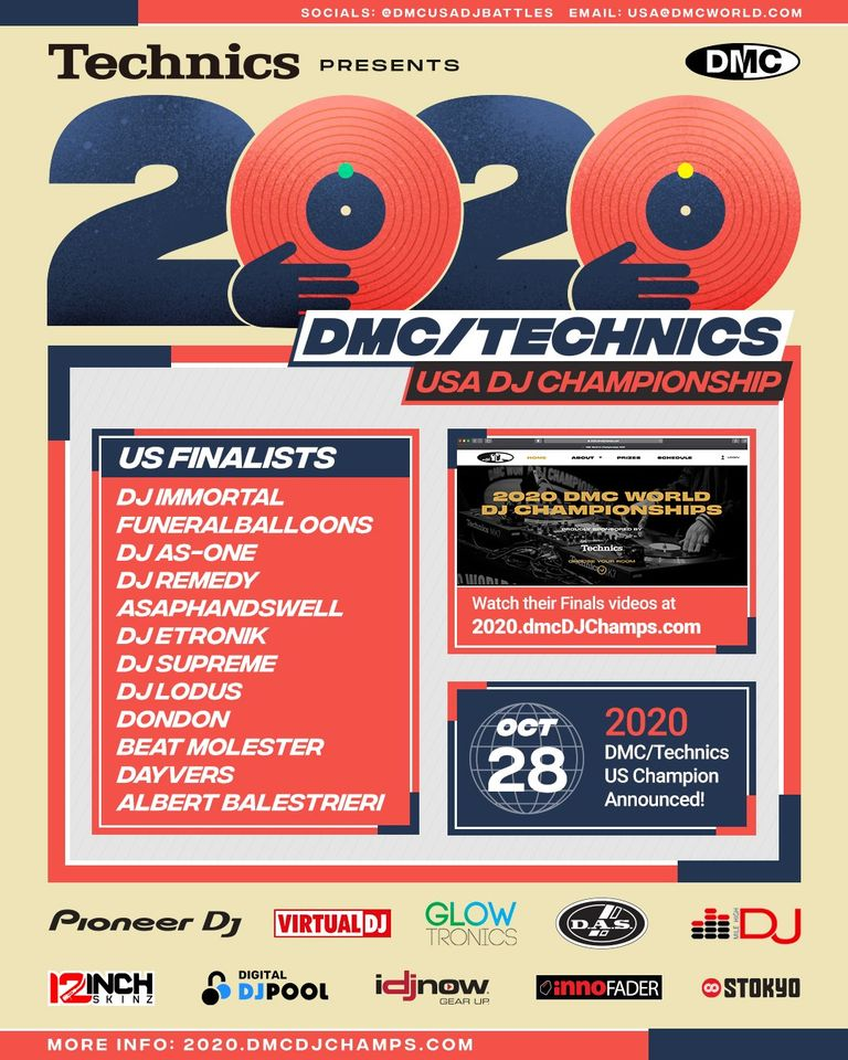 Check out DMC US Finalists with @VirtualDJ 2021 🎧✅🔥 @DMCUSADJBattles   DJ DonDon  DJ AsapHandswell  DJ RealSupreme  -  -  -  Get Virtual DJ 2021 today: ➡️