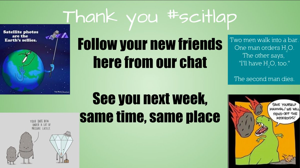 Thanks for coming out, can't wait to see you next week! #scitlap
