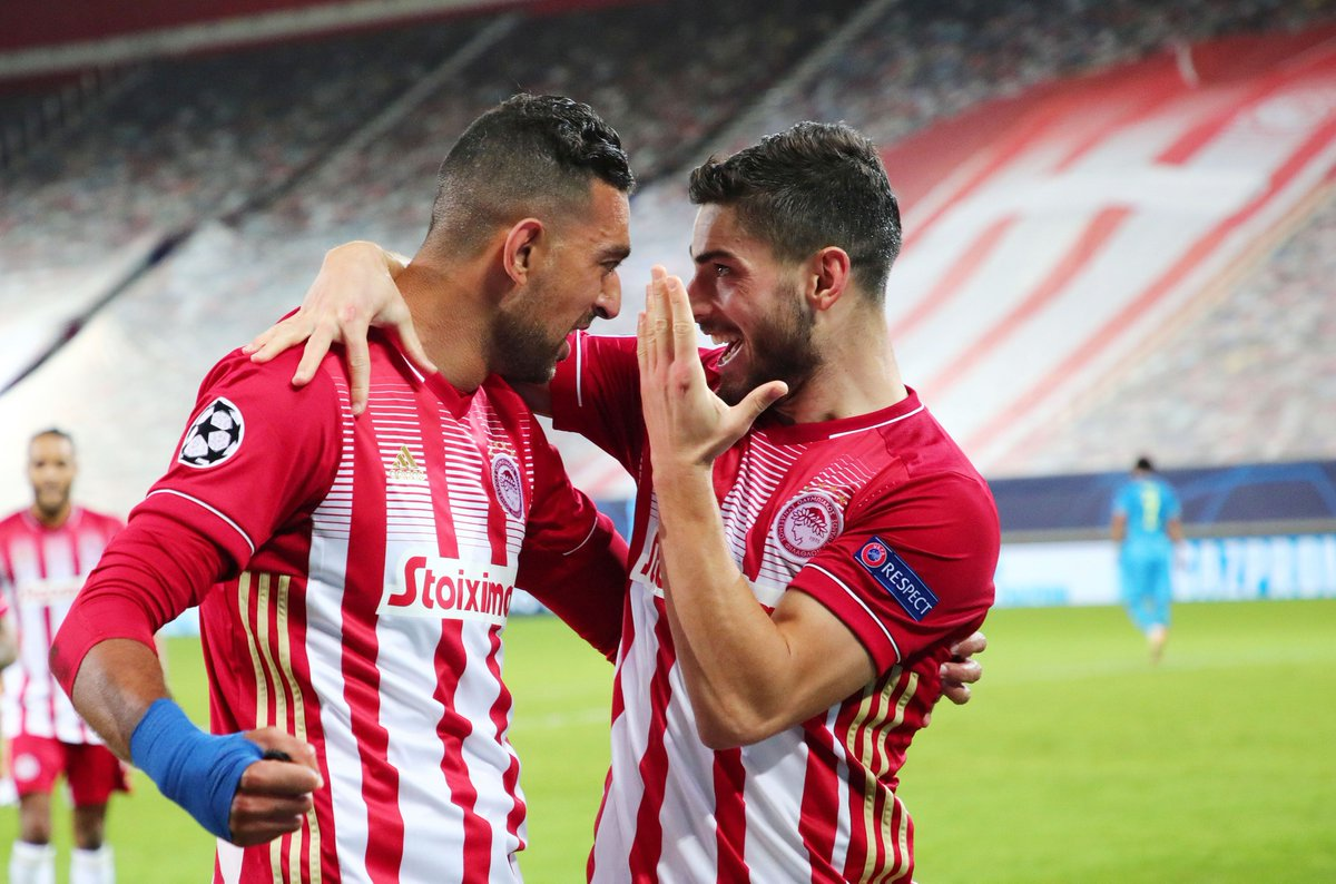 🔴⚪️ Olympiacos have won 6 of their last 8 home Champions League matches (including qualifying) 💪  #UCL https://t.co/cpi3NlrBF9
