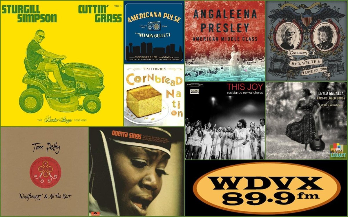 Tonight's #AmericanaPulse hits your radio at 8:00 on @WDVX. New tunes from @AustinlucasIND @ResistanceRev @davealvin @mountainman @rayezaragoza @The_Mastersons @fruitionpdx @StevieWonder @lydia_loveless @SteepCanyon that Sturgill fella and more...