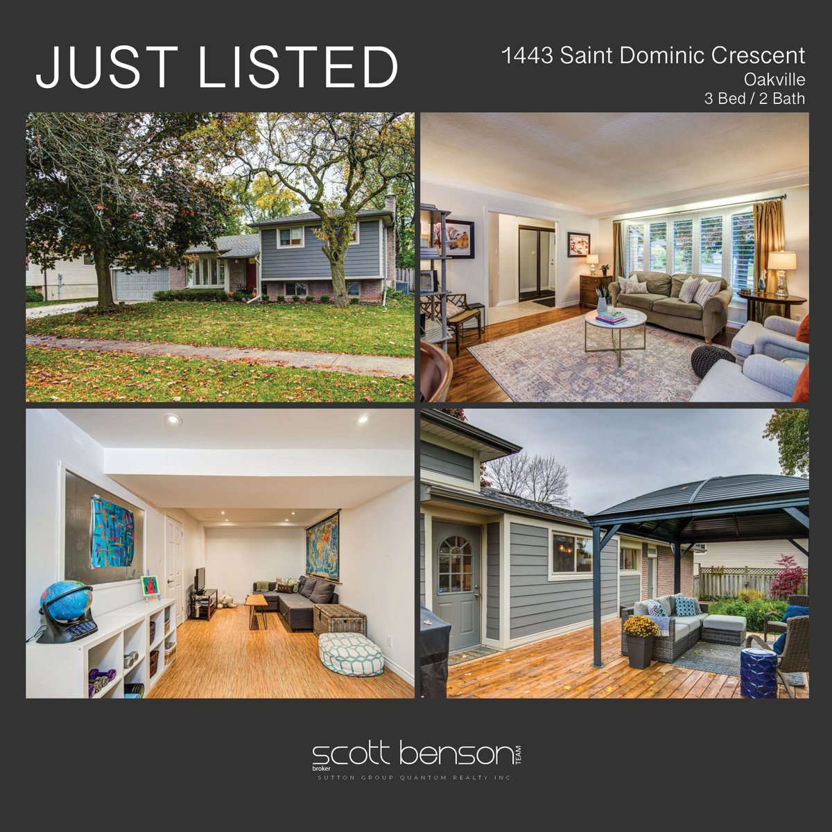 352 St Dominic Cres 🏡 3 🛏 / 2 🛁 $1,149,900 Oakville 📍  🔗 Click here to learn more: https://t.co/lyLJyqGMmR  #justlisted #bensonteamknows #realty #realtor #broker #realestate #househunting #interiordesign #homeforsale #forsale #property  #luxury #dreamhome #oakville https://t.co/InWslA5iGS