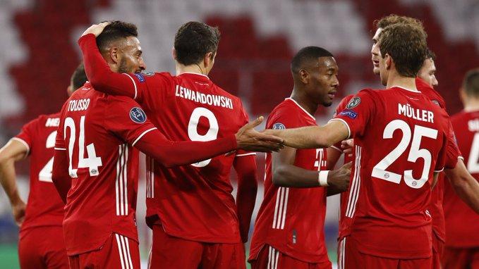 En tres meses el Bayern se ha medido a tres de los 4 primeros de España de la última temporada.   Vs. Barcelona 2-8 Vs. Sevilla 2-1  Vs. Atlético de Madrid 4-0  14 goles a favor y tres en contra.  ¡Que salvajada! https://t.co/HeivhhboPy