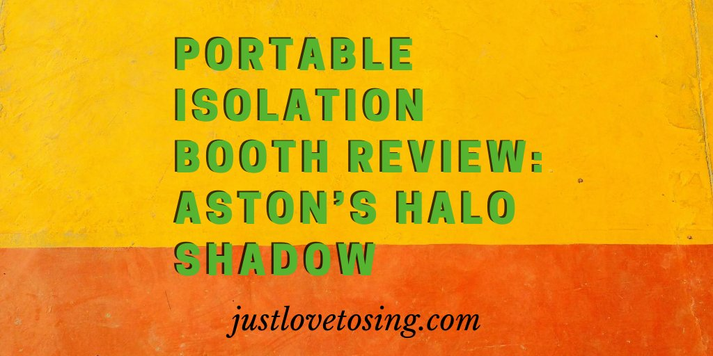 What is Aston Halo Shadow? How does it help in recording your singing? Read below to find out more here #JustLovetoSing #PortableIsolationBooth #Vocals #Singing #PortableVocalBooth #AstonHaloShadow #Review #Blog https://t.co/wP86BrqRQb https://t.co/X5uuJaIJ4L