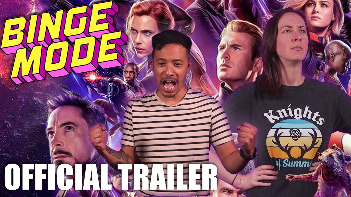 🗣THE WAIT IS OVER! 'Binge Mode' is back, and this time @netw3rk and @malloryrubin are tackling the ENTIRE Marvel Cinematic Universe! #BingeModeMarvel