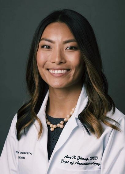 Meet the Chief: Amy Zhang. Advice for interview season: be open-minded, honest and trust your gut. And most importantly, have fun with it—interview season only happens once! Learn about Dr. Zhang: https://t.co/ZQvEFjRiYP @VUMC_Anes @VUMChealth #chiefresident #anesthesia https://t.co/ksxWEwarbB