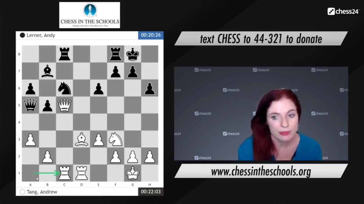 test Twitter Media - The Chess in the Schools Fall Charity Chess Challenge is LIVE now!  https://t.co/UATk7hfZlo  #c24live https://t.co/LotDJjrFAO