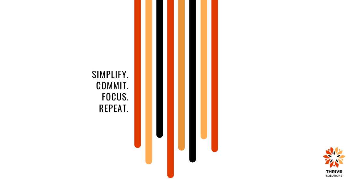 Happy Wednesday! 🙌 Are you ready for the challenges that lie ahead? Finish this week strong! 💪 #Simplify #Commit #Focus #Repeat https://t.co/1Iku5bePin