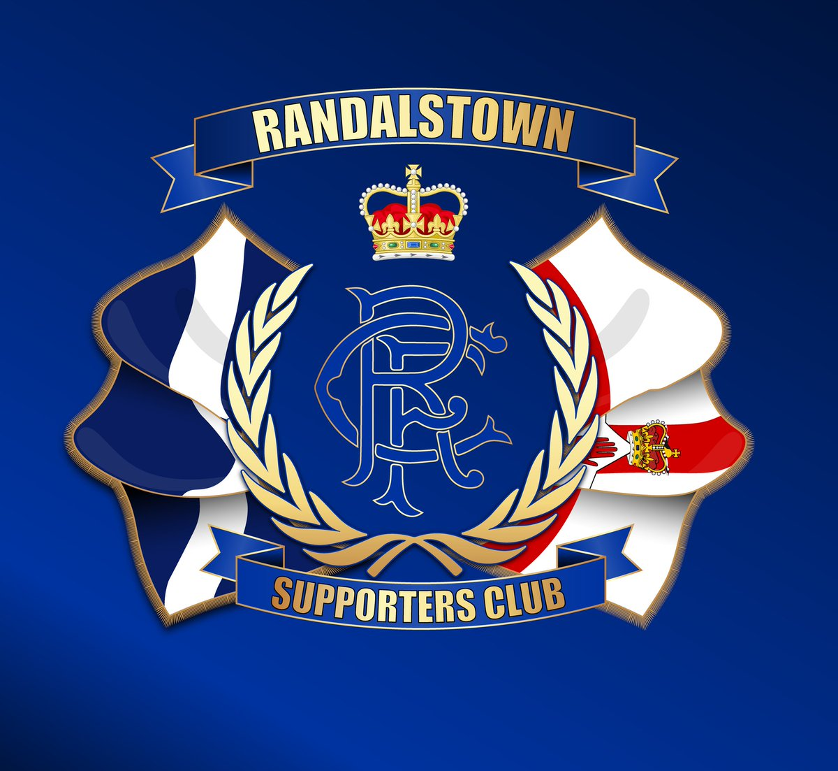 We decided to give our club crest a more modern touch.  The club wishes to thank @1872gfx for producing this fantastic design.  Give him a follow if you don't already 👍  #RangersFamily #RangersReady #WATP https://t.co/Tm4VcgG2uh