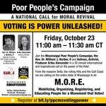 Image for the Tweet beginning: Join the @Mississippi_PPC, @RevDrBarber &