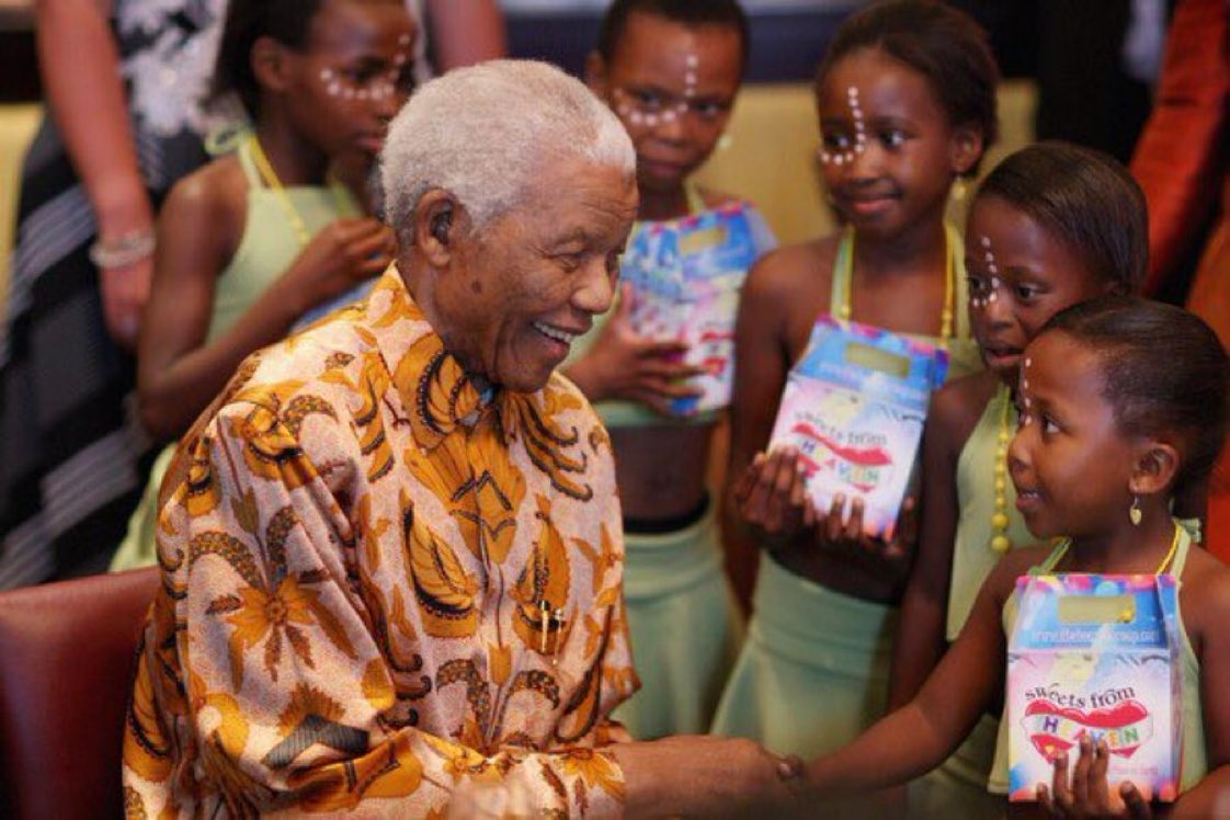History will judge us by the difference we make in the everyday lives of children. —Nelson Mandela