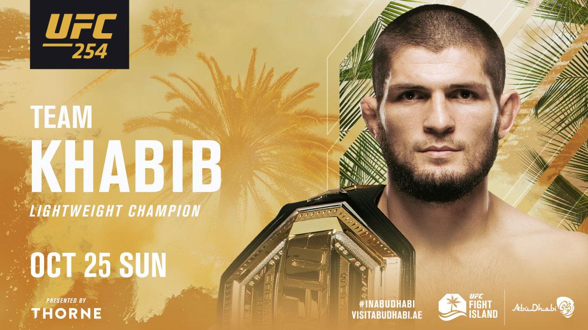 RT If you're with @TeamKhabib 🇷🇺  Can The Eagle make it 29-0 at #UFC254?  #InAbuDhabi @VisitAbuDhabi https://t.co/waOoAtJ8pa