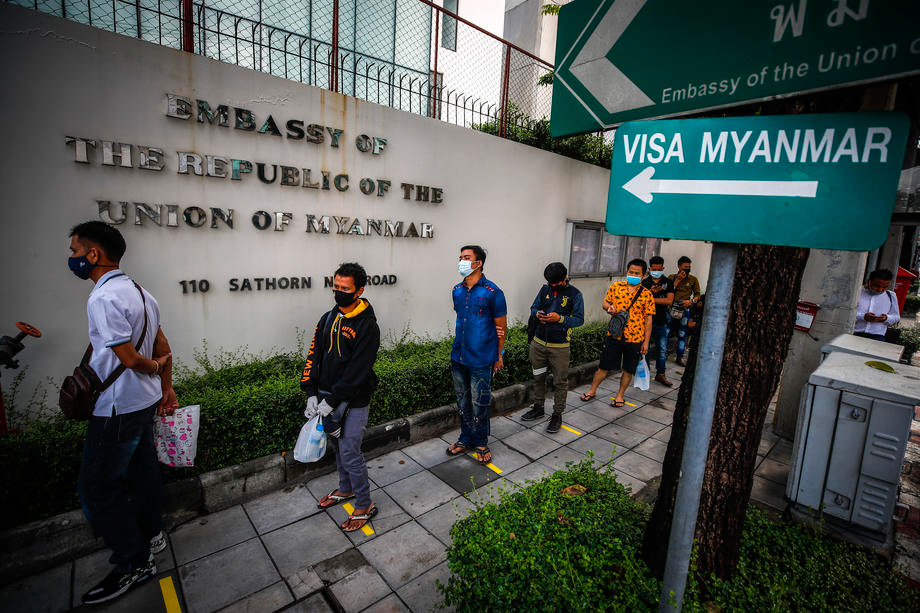 Nearly 70% of eligible #Myanmar expats cast their absentee #ballots at Myanmar foreign missions https://t.co/4PdprgnAYF https://t.co/hFuQ8oNrSH
