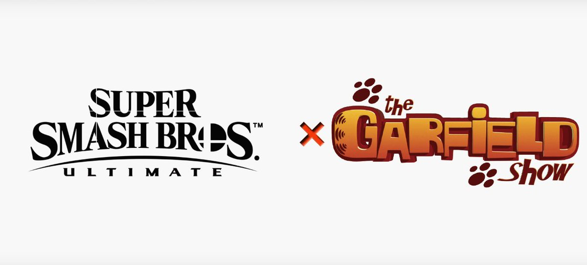 Replying to @SmashCrossovers: Super Smash Bros. Ultimate X The Garfield Show