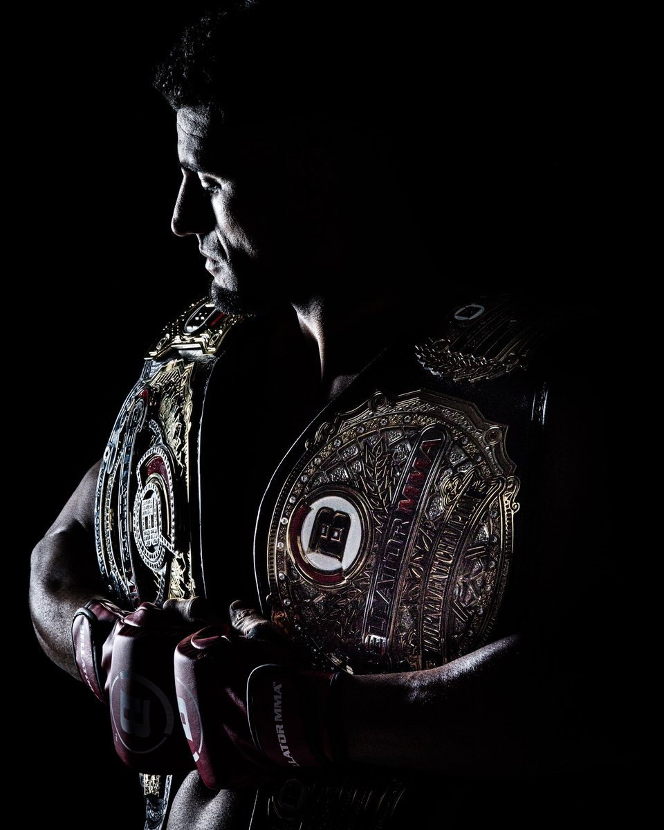 Will we see another double champ next Thursday?! #Bellator250 https://t.co/ls7xfwSDjV