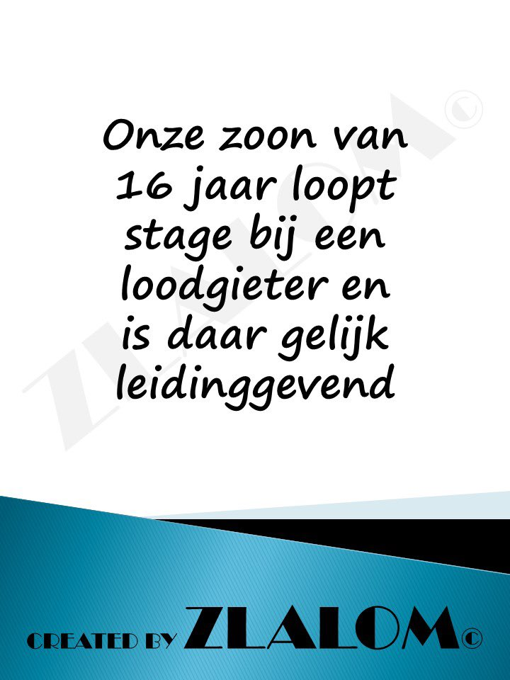 Stage  #Zigzag #taal #nederlands #humor #glimlach #news #bitcoin                #goodmorning #funny #beautiful #quoteoftheday #lol #fun #smile                 #quotesdaily #instaquote #internship #dtv #stage #schools #school #plumbers #plumbing #Jobs #loodgieter #leidinggevend https://t.co/DTOUvRHKM2