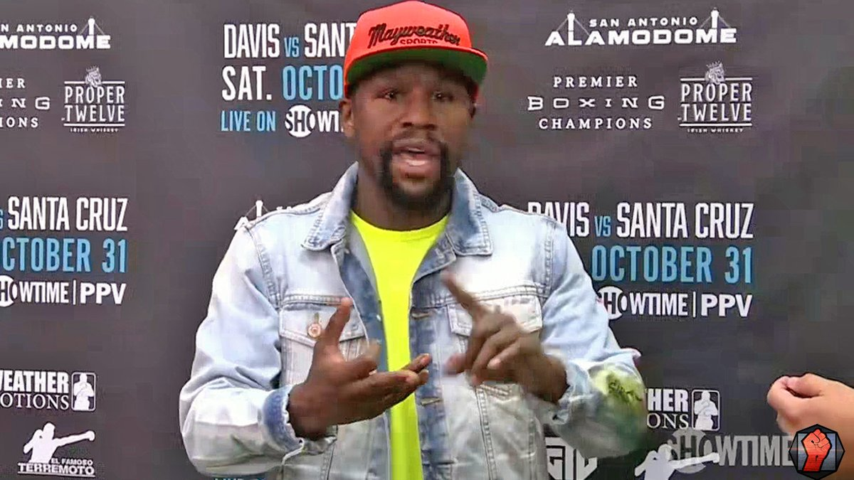 """""""YALL GOTTA CLEAN THIS SHIT UP! ITS BAD FOR BOXING!""""  Floyd Mayweather shreds all of boxing's sanctioning bodies saying its a mess and you cant tell who is the champ as he goes off on them! 🔥  Watch: https://t.co/6aMc8jnHrJ https://t.co/r7add3BK47"""