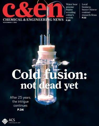What the 'cold fusion' debacle has revealed... #Cold #Fusion has a serious legacy problem. Back in 1989, researchers announced that they had demonstrated the phenomenon — a #nuclear reaction producing excess heat at room temperature — that promised to revolutionize clean #energy https://t.co/VEoYhaTKN2