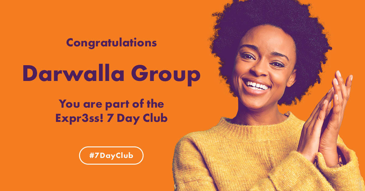 A big congratulations to Darwalla Group for joining the Expr3ss! 7 Day Club! 👏  Learn how you too can be appointing candidates within 7 days by using Expr3ss!  https://t.co/ZXdZCYumAH  #humanresources #hrtechnology  #recruitmentsoftware #hr #agribusiness #aussieag #7dayclub https://t.co/YmiLBzBYCT