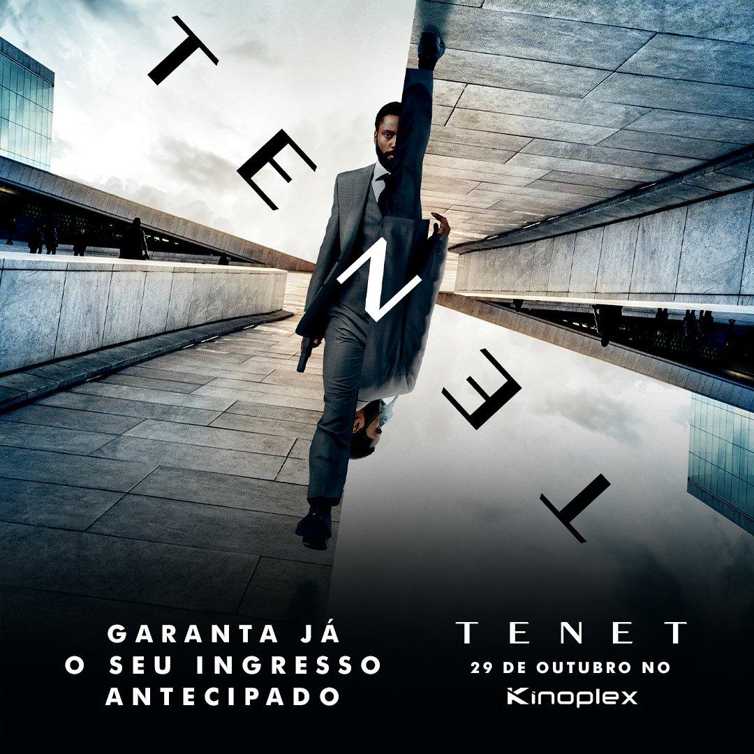 Começou a pré-venda de #Tenet, novo filme de Christopher Nolan, estrelado por John David Washington e Robert Pattinson. Ingressos disponíveis em: https://t.co/85jBcnVZac https://t.co/JaTgVzQBAw