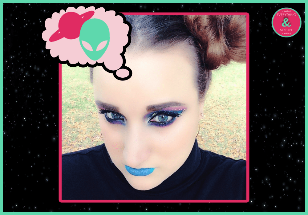 Futuristic #galaxy beauty look! Futuristic Makeup Look #bbloggers #makeup #beautiesonfire #creative https://t.co/2DwX5NZxuD https://t.co/7sKPObnUaG