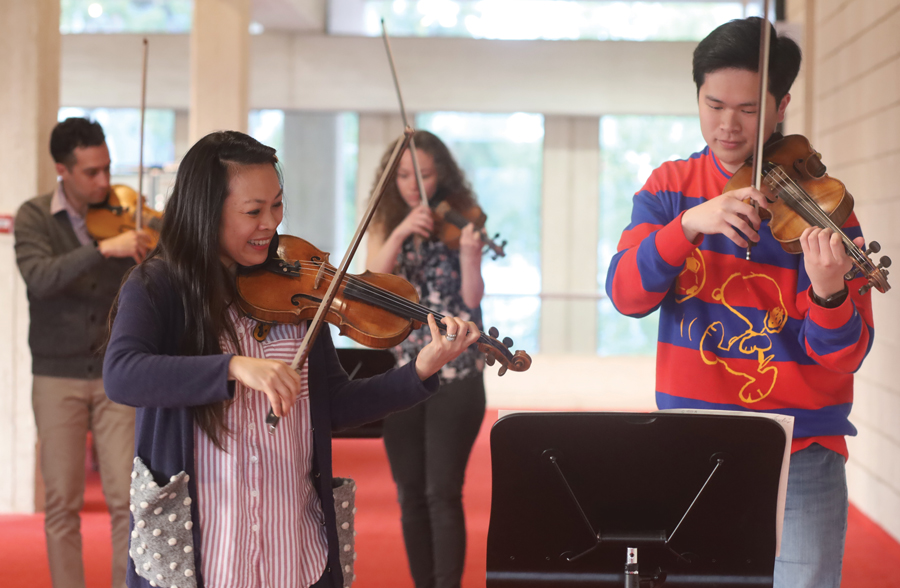 We are so excited to be partnering with WA Youth Orchestra over the next three years with support from @WoodsideEnergy  More info >   #wasymphonyorchestra