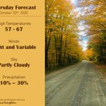 Image for the Tweet beginning: Tomorrow will be another above-normal-temperature