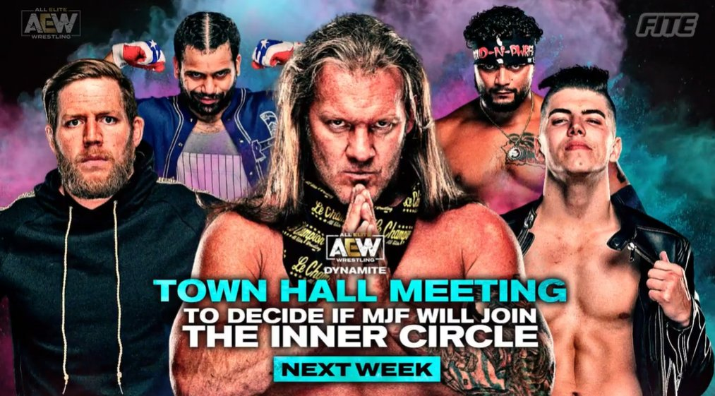 Stipulation Added To Title Match, Inner Circle, Women's Match Announced For Next Week's AEW Dynamite