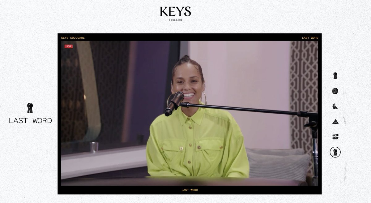 Definitely a great vibe ✨✨✨ @aliciakeys @keyssoulcare  Worth waking up for at 3am 💜 https://t.co/KqnY53HAoY