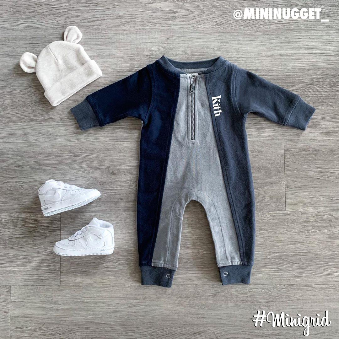 Today's top #minigrid is by @mininugget_. ▫️ #Nike #Toddler #AF1  ▫️ #GapKids #Beanie ▫️ #Kith #Onesie https://t.co/aCXRRzFTDF