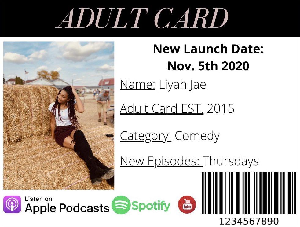 @AdultCardpod New launch date! #newpodcast #podcasting https://t.co/pUN3hklI2j