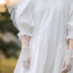 素敵なデザイン!ストーマなどの器具を使う花嫁さんにも優しいウェディングドレス
