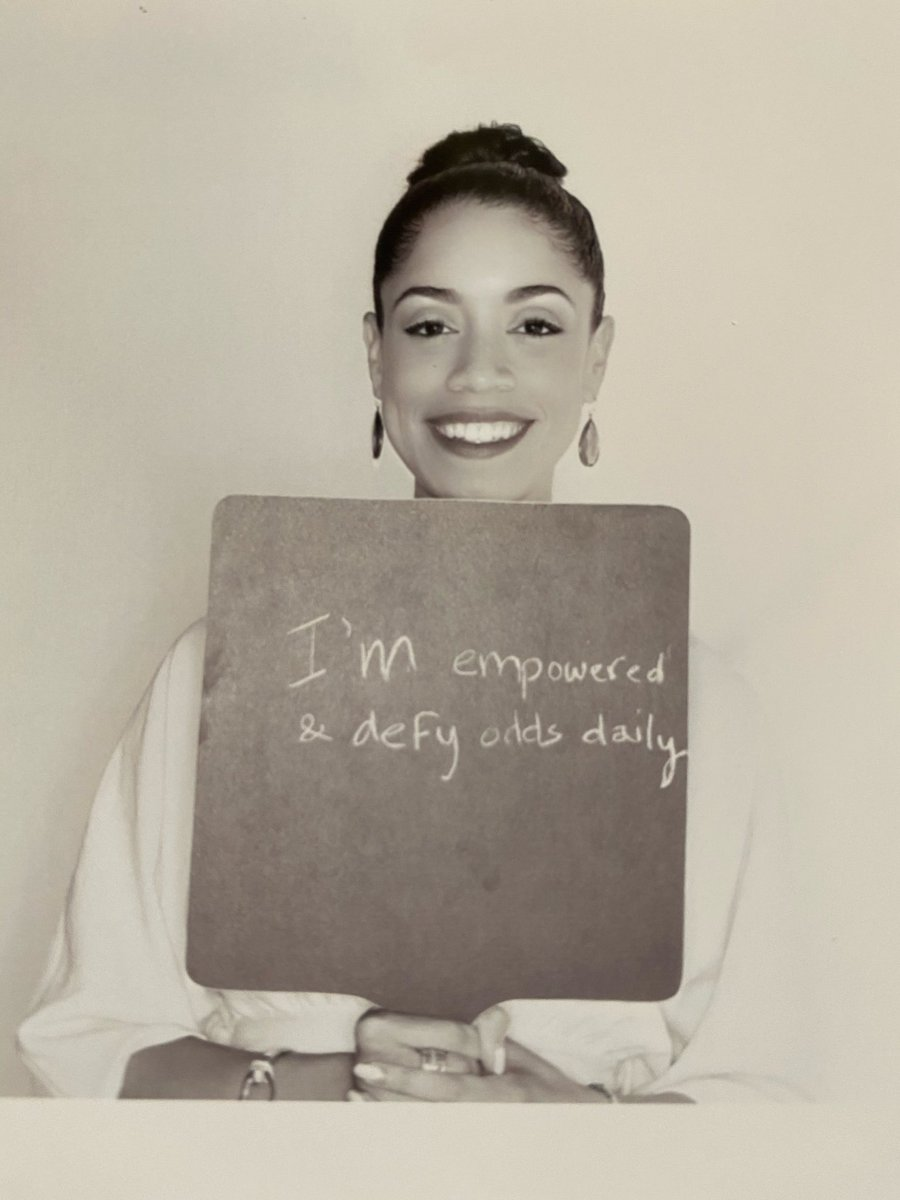 I am empowered & defy odds daily. #affirmations #positivevibes #midweekmotivation https://t.co/IFrMw9zKV4
