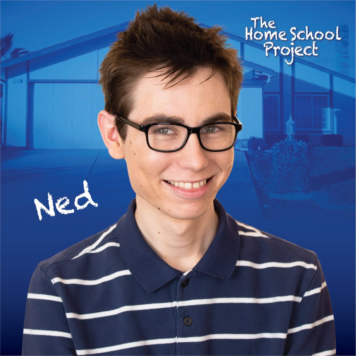 """Character posters for our new series """"The Home School Project"""". Meet Ned, Herbie & Steven Weaver in our first episode. Available for free now on Youtube. https://t.co/up5pZRqZvA  #film #filmmaking #tv #webseries #webseries2020 #comedy #comedyvideo #homeschool #posterdesign https://t.co/b9f05y1ZLg"""