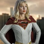 Image for the Tweet beginning: Awesome Supergirl Suit Edit!