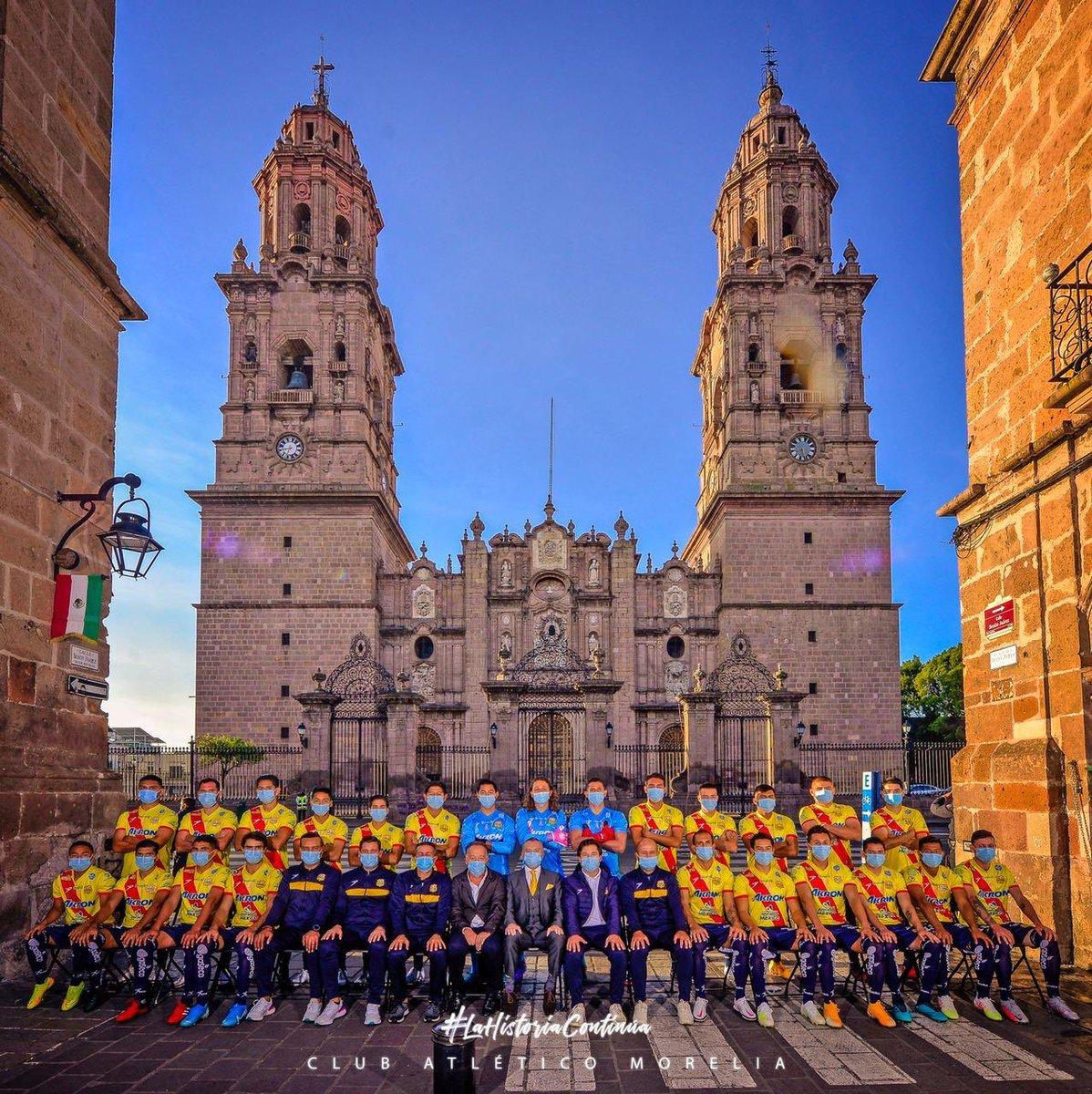 Este sueño llamado Atlético Morelia lo compartimos con toda la afición, unidos; seguiremos forjando nuestra historia. Primera Foto Oficial de nuestro equipo https://t.co/Opd9XLIwfq