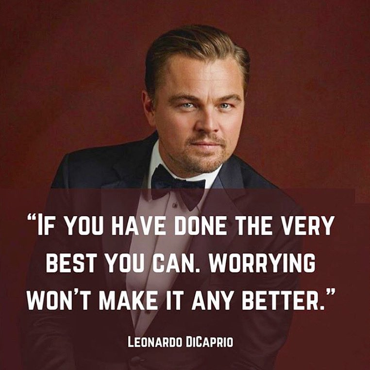 Don't know who needs to hear this today... but it's the truth. ❤️  #doyourbest #inspiration #truth #leonardodicaprio #actorslife #create #support #artistsupport #weloveyou https://t.co/iizXrUrWat
