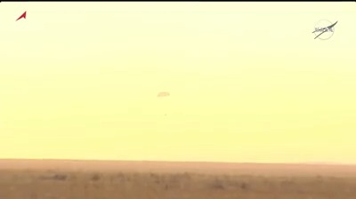 Touchdown!!! The Exp 63 crew, with @Astro_SEAL, @ivan_mks63 and Anatoly Ivanishin, has returned to Earth landing safely in Kazakhstan at 10:54pm ET. go.nasa.gov/3ohKShJ