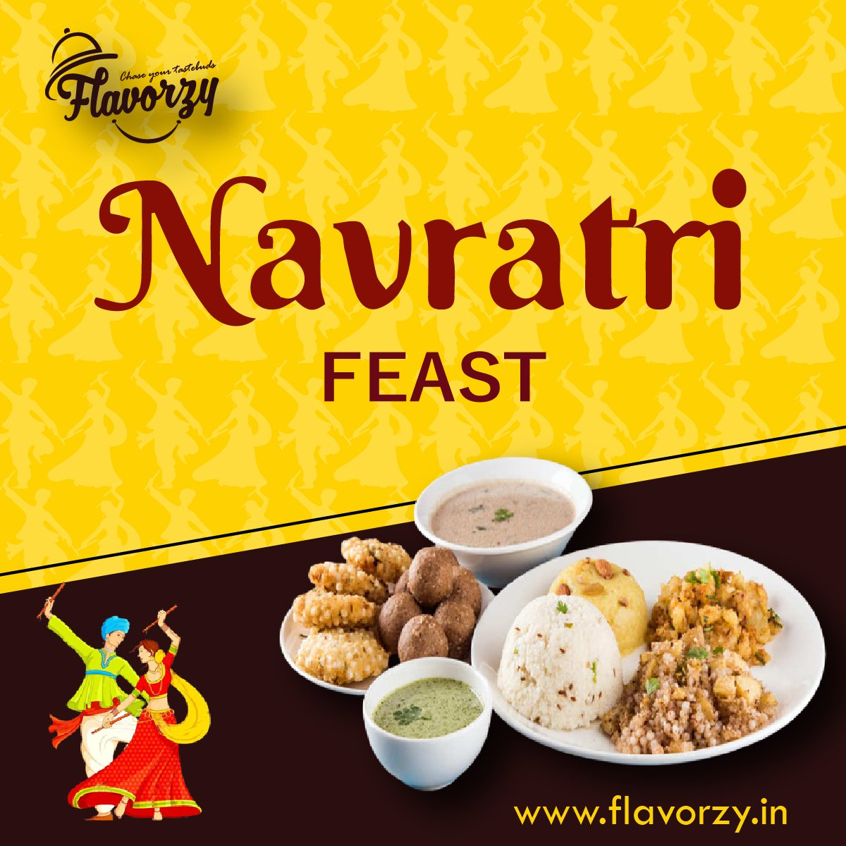 Happy Navratri!  The color Yellow signifies the happiness and optimism of enlightenment.  Chase your taste buds and follow us for great offers and deals.  #orderfoodonline #restaurants #foodindustry #Dubai #freshfood #foodservice #savetime #Sharjah #veganfriendly #UAE https://t.co/1eExRT2J46