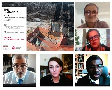 """More than 400 participants from almost 80 countries❗️😃 👏Thank you all for attending the webinar """"The invincible city. Society in cultural heritage recovery"""" and discussing recent challenges in #cuturalheritage #recovery   #TheInvincibleCity #LiBeirut #WarsawRecommendation https://t.co/PYE9gZ7Hjv"""