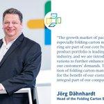 Image for the Tweet beginning: Jörg Dähnhardt, Head of the