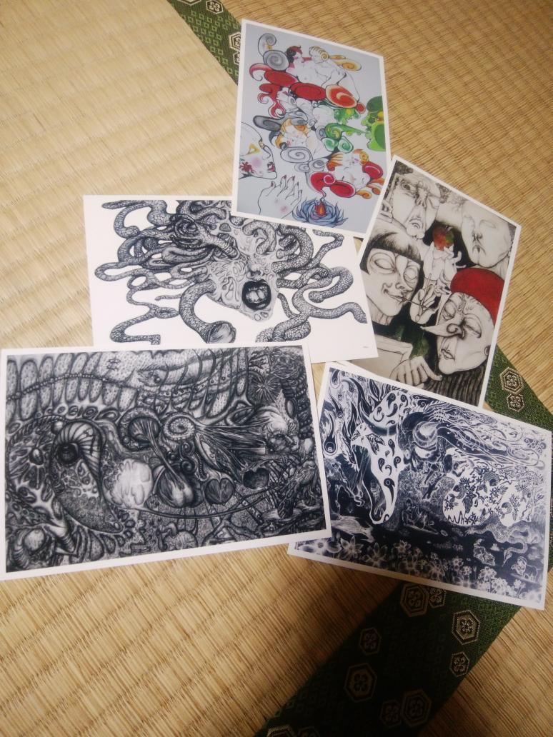 新しいプリンターで試し刷り。 今のは使い易いし色合いも良いね。👽  #create #artistsoninstagram #art #artwork #アート #絵描き #illustration #ink #printer #lowbrowart #epson #drowning #ballpen  #ballpenart #penandink #postcard #ballpointpendrawing #ballpendrawing #プリンター #ペン画 https://t.co/3CY6HiyFHO