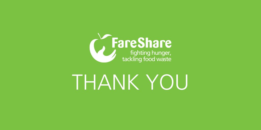 We also want to say a massive THANK YOU to all of your supporters for the kind words and generous donations at this very difficult time. Every £1 helps provide four meals for children in need so every donation makes a difference. https://t.co/YJOlHE6h5z