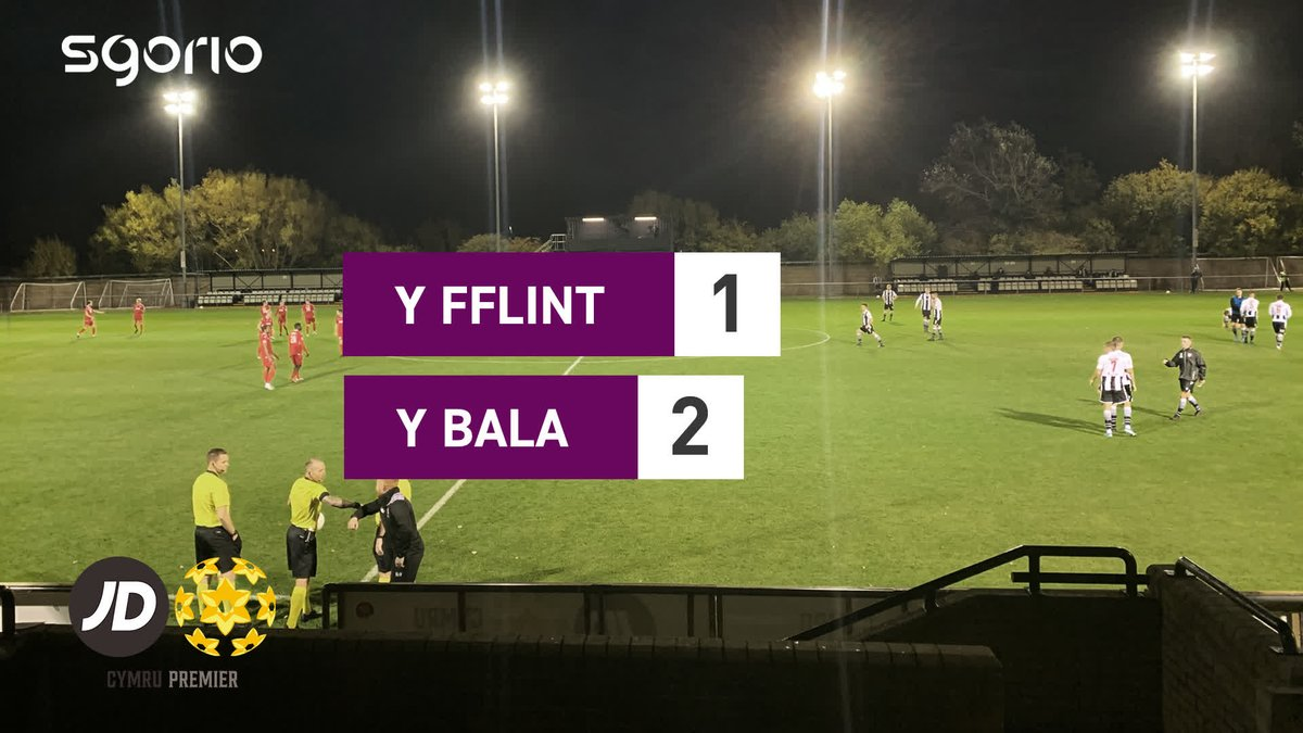 Image for the Tweet beginning: Uchafbwyntiau | Highlights  @FlintTownFC 1-2 @BalaTownFC