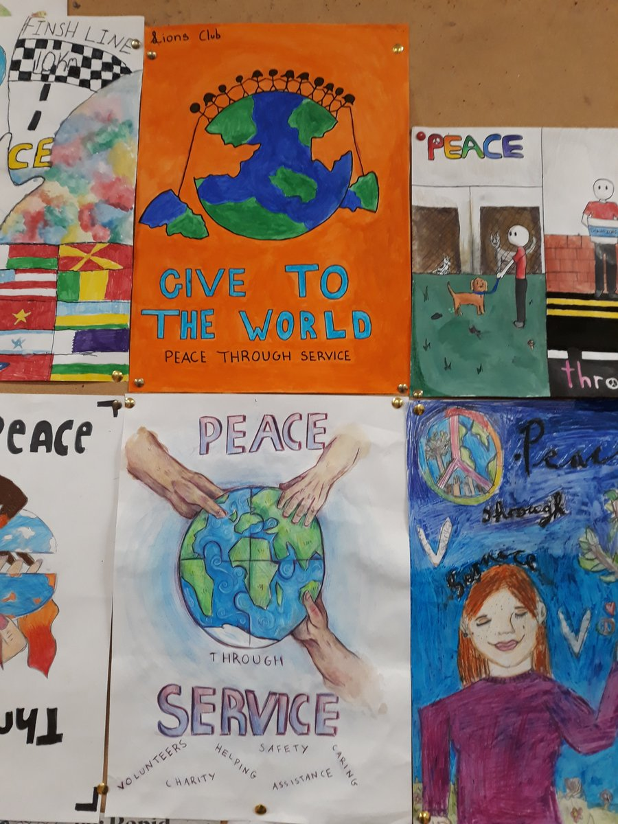 #RT @lionsclubs: RT @DCWschool: 👏to DCW students, Jessica Quinn who came 1st, and Clodagh Forsey 2nd, in the Wicklow Lions Club art competition 'Peace Through Service'. Well done to all of the 1st year art students that participated.  The Lions Club … https://t.co/ZY0aFUtjQJ