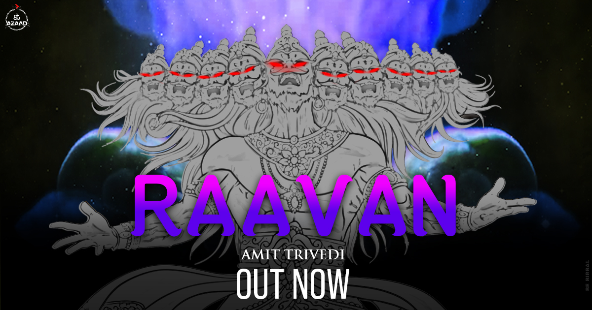 Celebrate this Dussehra by tuning in to the powerful Raavan beats! Watch the full video here: https://t.co/bxZ2wTA9Fa  #Raavan #SongsofTrance #TranceMusic #AmitTrivedi #AmitTrivediMusic #ATAzaad https://t.co/nTk1C3cOle