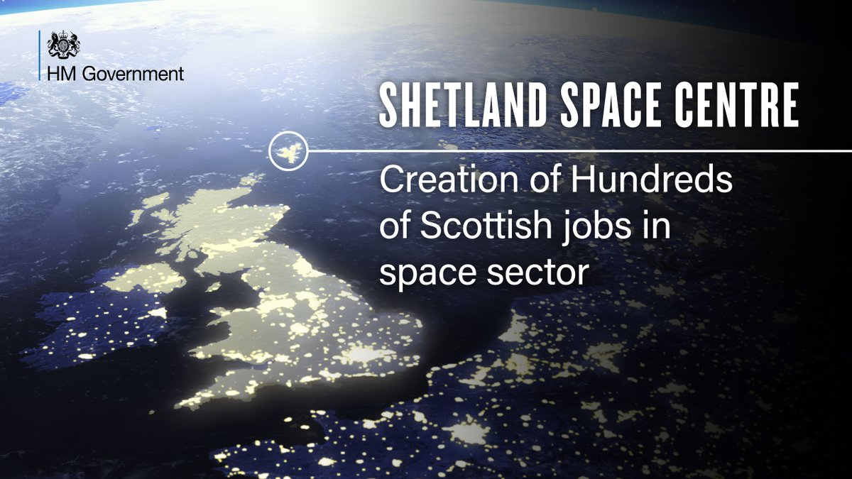 🚀Hundreds of jobs in the space sector will be created in Scotland following approval of plans for @LockheedMartin  to transfer its satellite launch operations to @Shetland_Space Centre.🚀  More here: